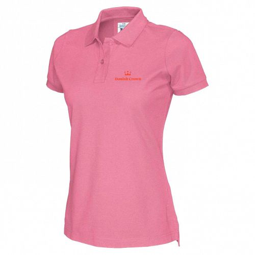 Women's Cottover Polo with Danish Crown logo