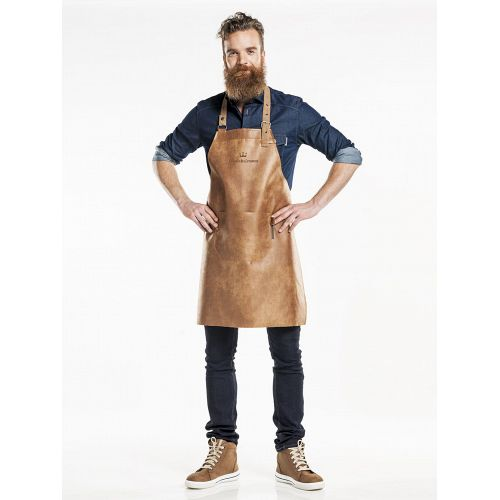 Bib Apron Regular Bourbon Gold W65