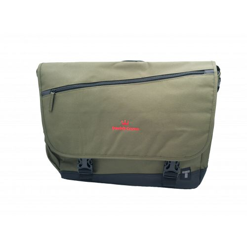 PC shoulder bag, olive green