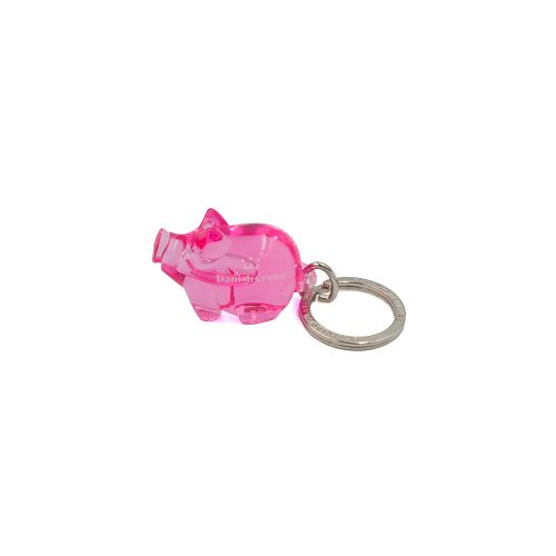 Keychain Pig, 10 pcs. with Danish Crown logo