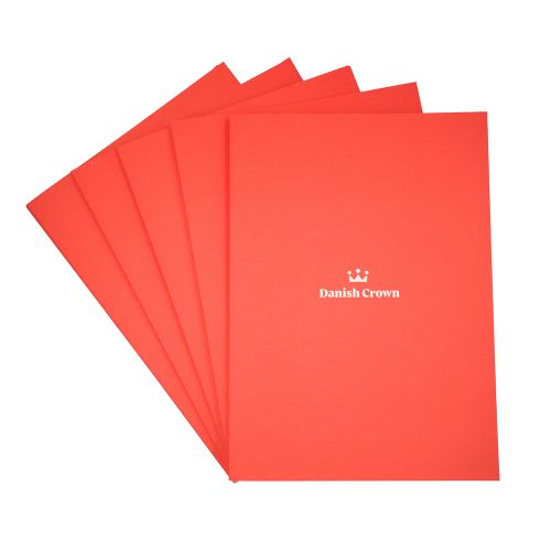 Orange sales folder A4 - 40 pcs