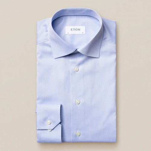 Eton signature twill contemporary fit