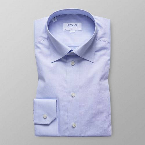 Sky Blue Button-Under Poplin Shirt