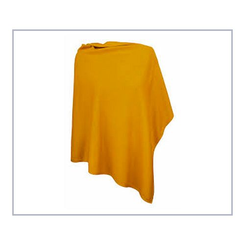 James Harvest poncho saffron