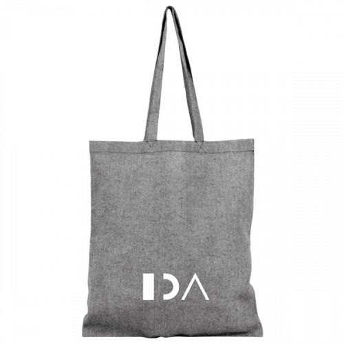 Pheebs 150 g/m² recycled cotton tote bag.