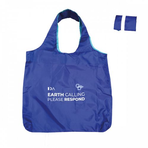 Shopping bag Earth Calling Please Respond.